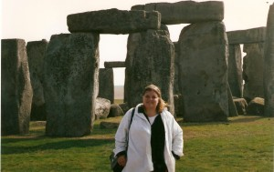 Me at Stonehenge, 1996
